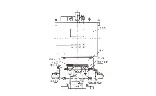 江苏GA- II型电动润滑泵及泵站装置