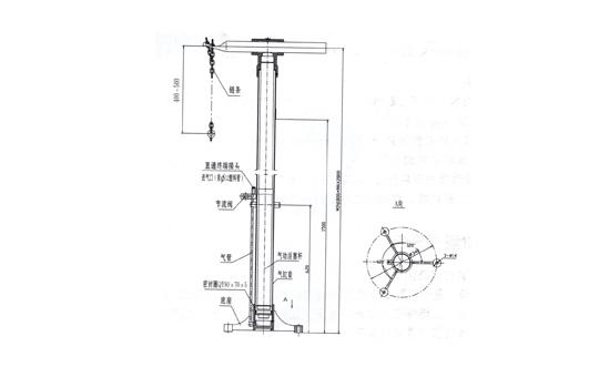 1791型气动升降架