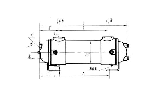 江苏2LQGW 型冷却器
