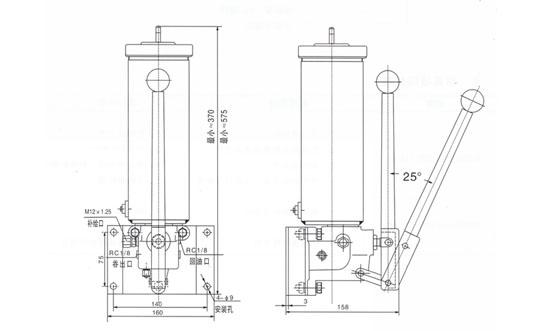 KSP-105-15微型手动润滑泵
