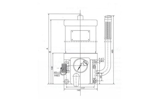 DA型手动润滑泵