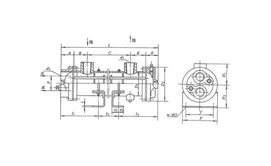 江苏2LQG2W 型冷却器