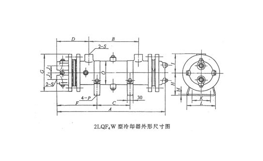 江苏2LQF4W 型冷却器