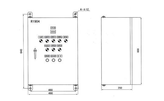 R1904型电气控制箱