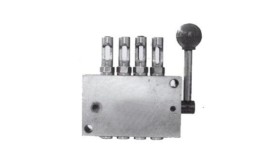 DX型手动单线分配器