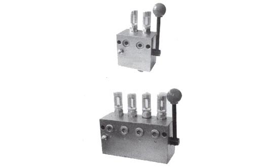 GW型手动单线分配器
