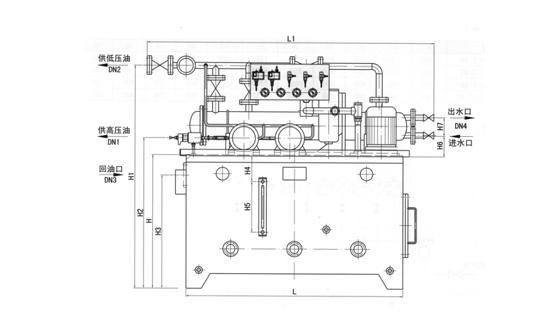 GDR型高低压稀油站