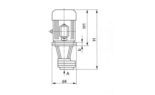 立式齿轮油泵装置(LBZ型)