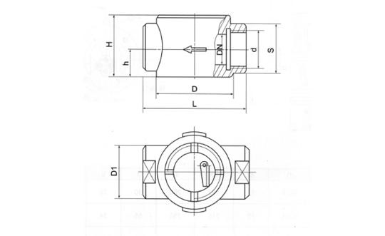 油流指示器(YZQ型)