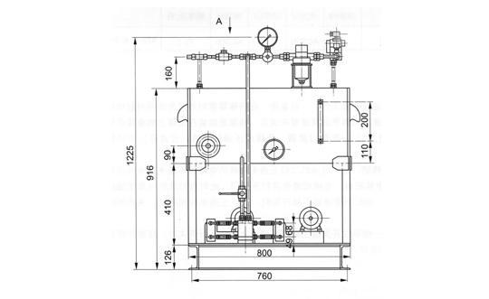 挡轮液压站(TBY一12型)