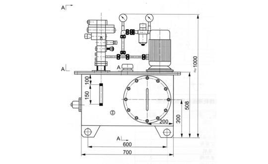 挡轮液压站(NC一14)